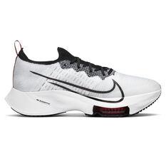 Nike Air Zoom Tempo Next% Mens Running Shoes White/Black US 7, White/Black, rebel_hi-res