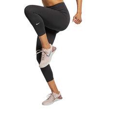 Nike Womens One Crop Tights, Black, rebel_hi-res