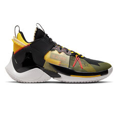 Nike Air Jordan Why Not Zer0.2 Mens Basketball Shoes Black / Red US 7, Black / Red, rebel_hi-res