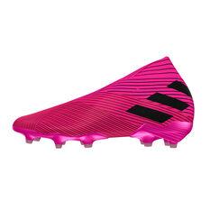 adidas Nemeziz 19+ Football Boots Pink / Black US Mens 7 / Womens 8, Pink / Black, rebel_hi-res