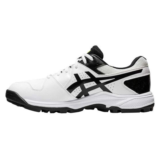 Asics GEL Peake 6 Cricket Shoes, White, rebel_hi-res