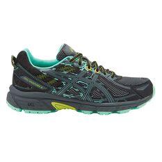 Asics Gel Ventures 6 Womens Trail Running Shoes Black / Grey US 6, Black / Grey, rebel_hi-res