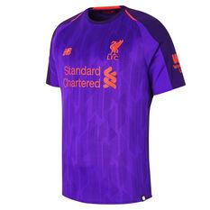 f6fd81f7d35 Liverpool FC 2018   19 Mens Away Jersey Purple S