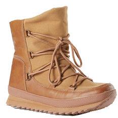 Rojo Lodge Womens Snow Boots Brown 5, Brown, rebel_hi-res
