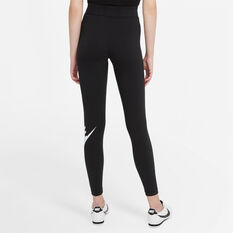 Nike Womens Sportswear Essential High-Rise Leggings Plus Black XL, Black, rebel_hi-res