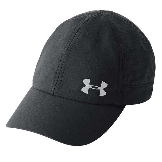 Under Armour Fly By Visor Black / Silver OSFA, , rebel_hi-res