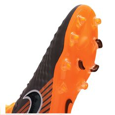 Nike Magista Obra II Pro Dynamic Fit FG Mens Football Boots Black / Orange US 7 Adult, Black / Orange, rebel_hi-res