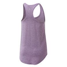 Ell & Voo Womens Sammie Workout Tank Purple XS, Purple, rebel_hi-res