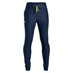 Under Armour Boys Prototype Pants Blue / White XS, Blue / White, rebel_hi-res