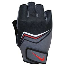 0ba7fb36 Nike Mens Core Lock Down Training Gloves Grey / Black S, Grey / Black, ...