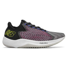 New Balance FuelCell Rebel Womens Running Shoes Black US 6, Black, rebel_hi-res