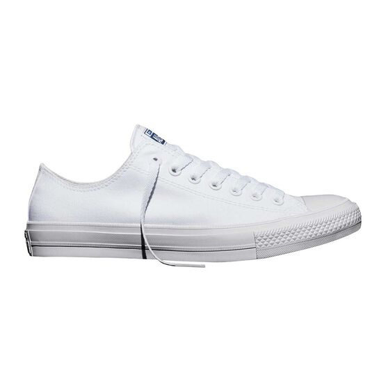Converse Chuck Taylor All Star II Low Top Casual Shoes White US 3, White, rebel_hi-res