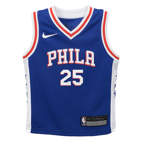 cheap for discount f79a5 42b5b Nike Philadelphia 76ers Ben Simmons Icons 2019 Infants Swingman Jersey