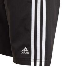 adidas Boys Essentials 3-Stripes Chelsea Shorts, Black, rebel_hi-res