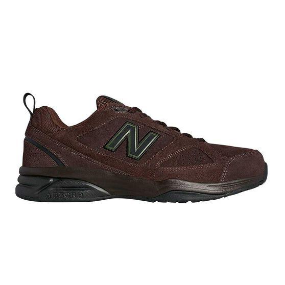 New Balance 624 2E Mens Cross Training Shoes, Brown, rebel_hi-res