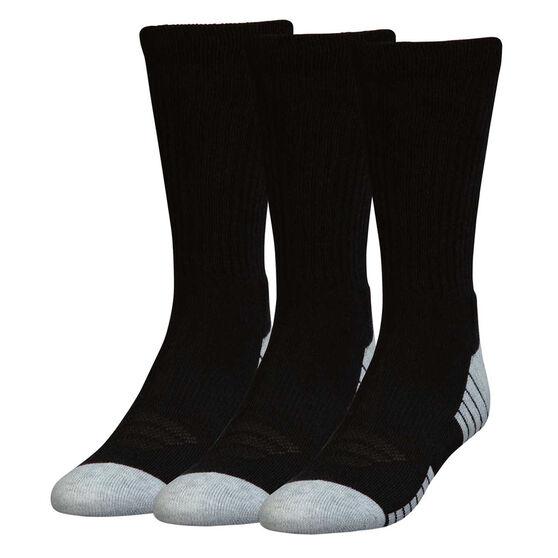 Under Armour HeatGear Crew Socks 3 Pack, , rebel_hi-res