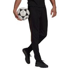 adidas Mens Tiro Pride Football Track Pants, Black, rebel_hi-res