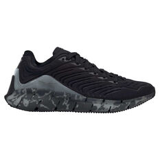 Reebok Zig Kinetica Casual Shoes Black/Grey US 4, Black/Grey, rebel_hi-res