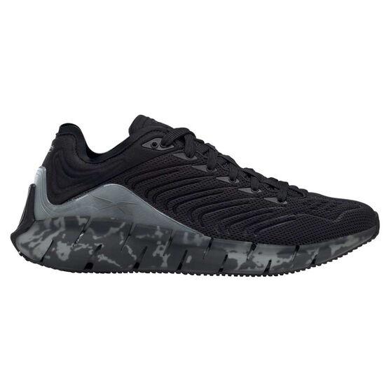 Reebok Zig Kinetica Casual Shoes, Black/Grey, rebel_hi-res