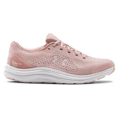 Under Armour Liquify Womens Running Shoes Pink US 6, Pink, rebel_hi-res