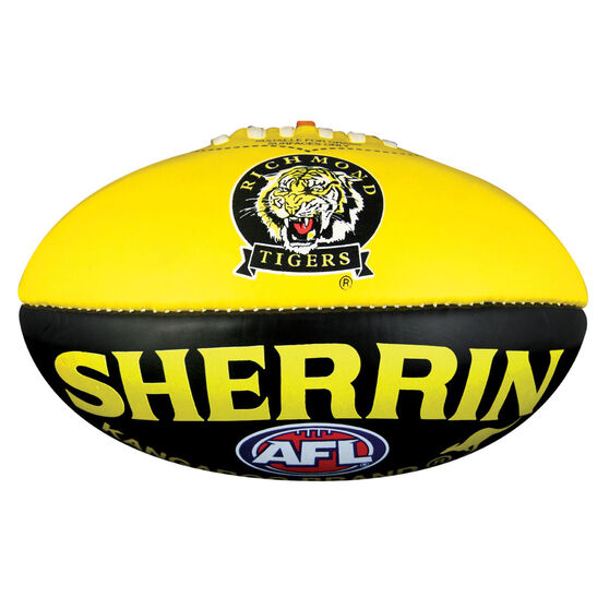 Sherrin AFL Richmond Tigers Softie Ball, , rebel_hi-res