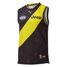 Richmond Tigers 2019 Men's Home Guernsey Black / Yellow M, Black / Yellow, rebel_hi-res