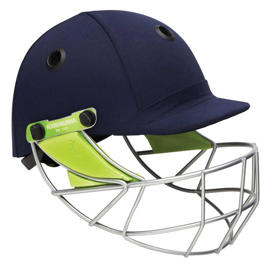Kookaburra Pro 600 Cricket Helmet, Navy, rebel_hi-res
