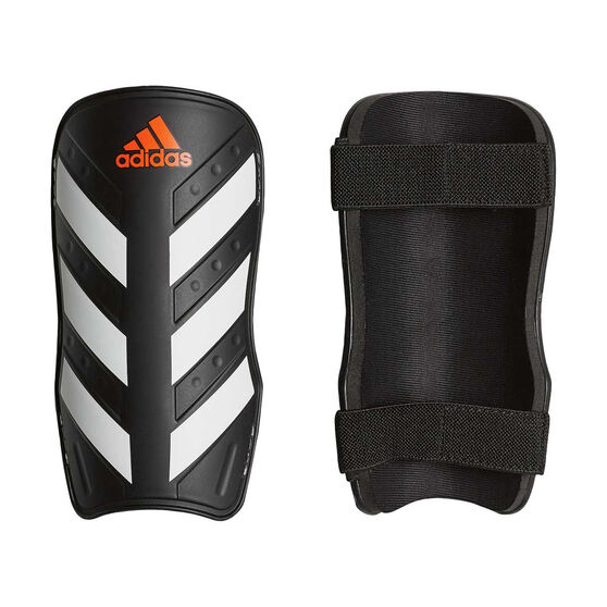 Adidas Everlite Shin Guards, Black / White, rebel_hi-res