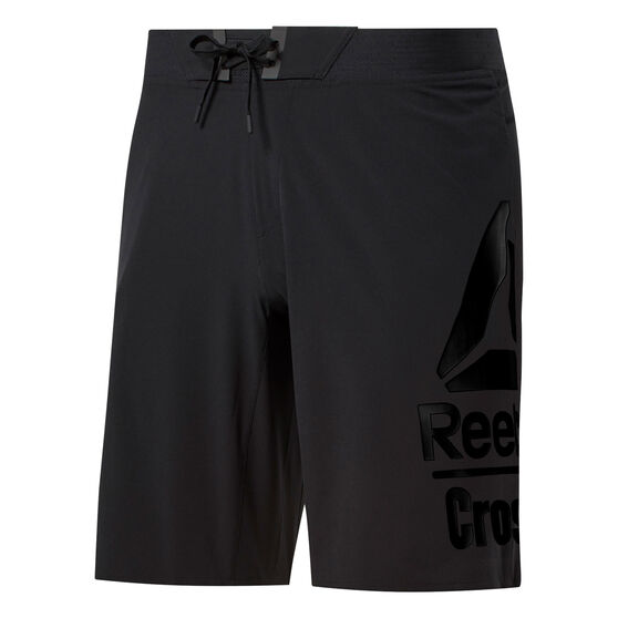 Reebok CrossFit Mens Epic Base Training Shorts, Black, rebel_hi-res