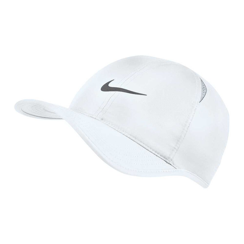 Nike Mens AeroBill FeatherLight Cap White  a51aee78d7d