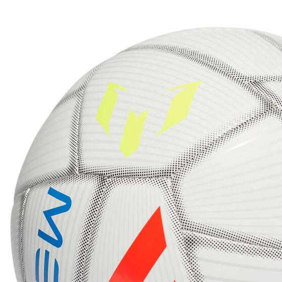 a43943691 adidas Messi Capitano Soccer Ball White / Blue 5