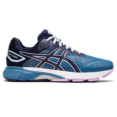 Asics GT 4000 2 D Womens Running Shoes Blue/Navy US 6, Blue/Navy, rebel_hi-res