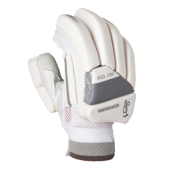 Kookaburra Ghost Pro 1200 Junior Cricket Batting Gloves Youth Left Hand, , rebel_hi-res