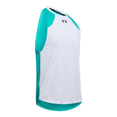 Under Armour Mens Baseline Performance Tank Grey S, Grey, rebel_hi-res
