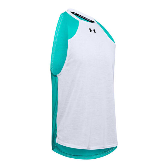 Under Armour Mens Baseline Performance Tank, Grey, rebel_hi-res