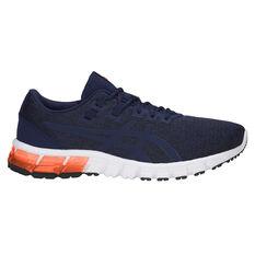 Asics GEL Quantum 90 Mens Training Shoes Blue / White US 7, Blue / White, rebel_hi-res
