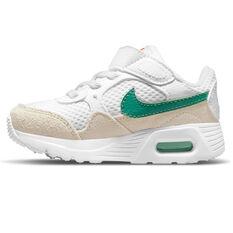 Nike Air Max SC Toddlers Shoes White/Green US 2, White/Green, rebel_hi-res
