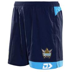 262c9776d95 Gold Coast Titans 2019 Mens Gym Shorts Navy   Blue S