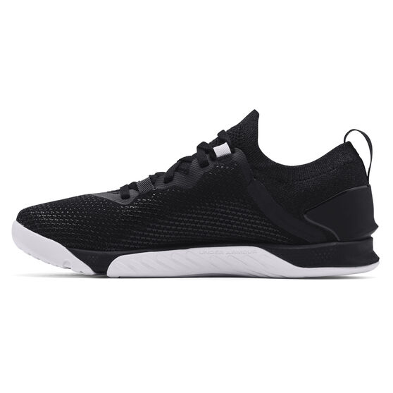 Under Armour Tribase Reign 3 Womens Training Shoes, Black/White, rebel_hi-res