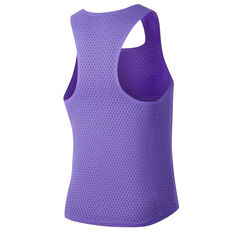 Nike Mens AeroSwift Singlet Purple S, Purple, rebel_hi-res