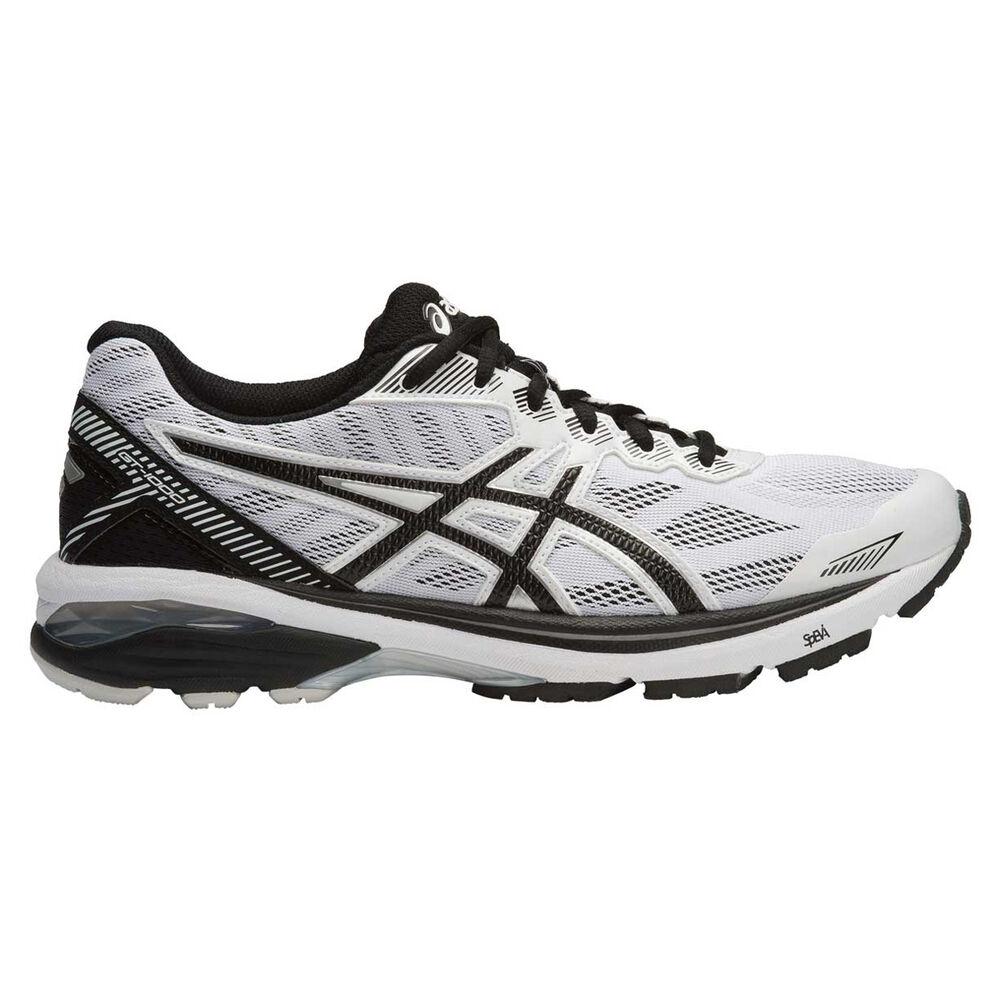 310bda6c8ec8 Asics GT 1000 5 Mens Running Shoes White   Black US 12