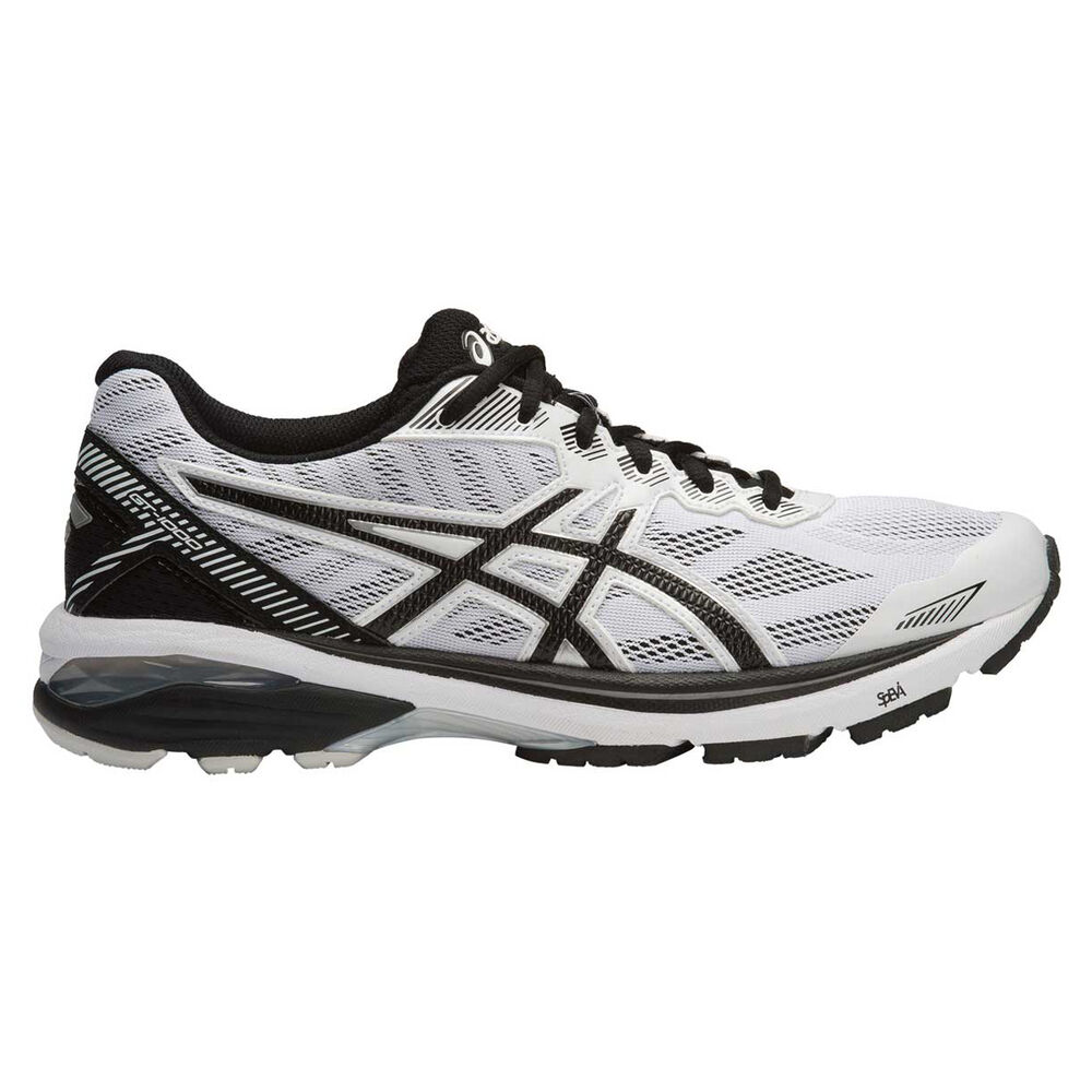 official photos f43b9 e3626 Asics GT 1000 5 Mens Running Shoes White   Black US 12, White   Black