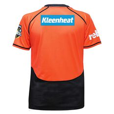Perth Scorchers 2018 Womens On Field Replica Shirt Orange 8, Orange, rebel_hi-res