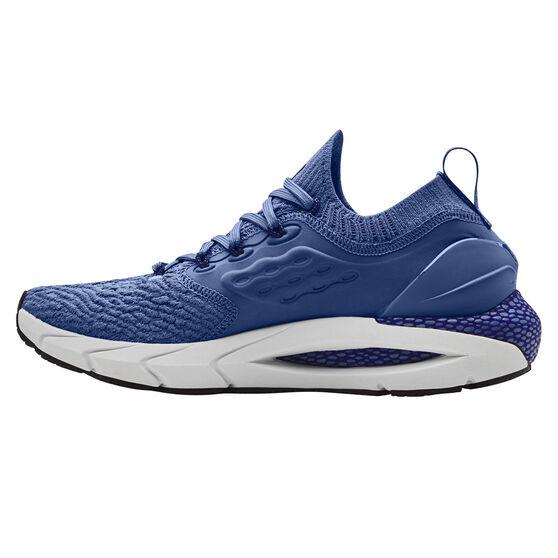 Under Armour HOVR Phantom 2 Mens Running Shoes, Blue, rebel_hi-res