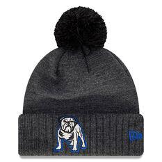 Canterbury Bulldogs New Era Pom Knit Beanie, , rebel_hi-res
