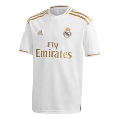 e804d929bf Real Madrid CF 2019/20 Kids Home Jersey White / Gold 10, ...