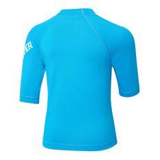 Quiksilver Toddler Boys All Time Short Sleeve Rash Vest Blue 3, Blue, rebel_hi-res