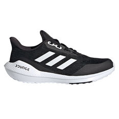 adidas EQ21 Run Kids Running Shoes Black/White US 4, Black/White, rebel_hi-res