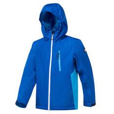 Tahwalhi Boys Boomer Ski Jacket Blue 4, Blue, rebel_hi-res