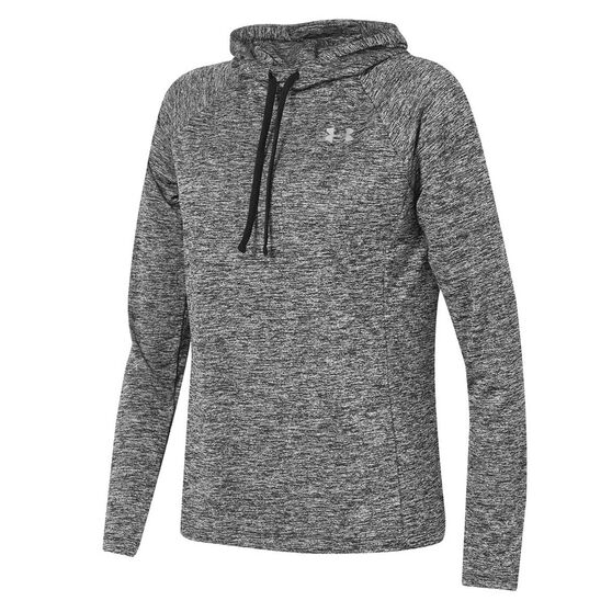 Under Armour Womens UA Tech Twist Hoodie, Black, rebel_hi-res